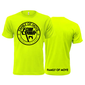 Limetkově zelené parkourové triko