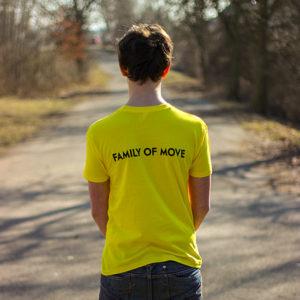 žluté parkourové třičko